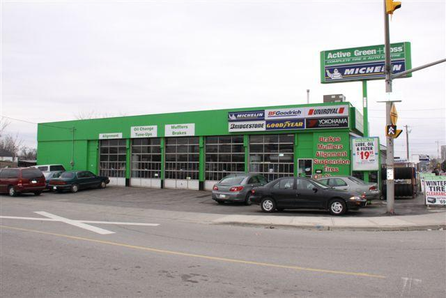 Green Tire Store In Kitchener On