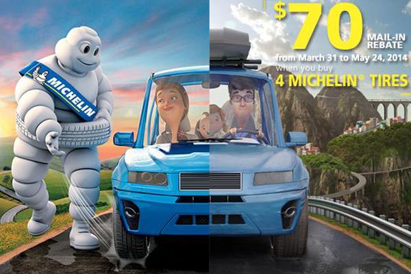 Michelin Tire Rebate >> Michelin 70 Dollar Tire Rebate Offer Tire And Auto Care