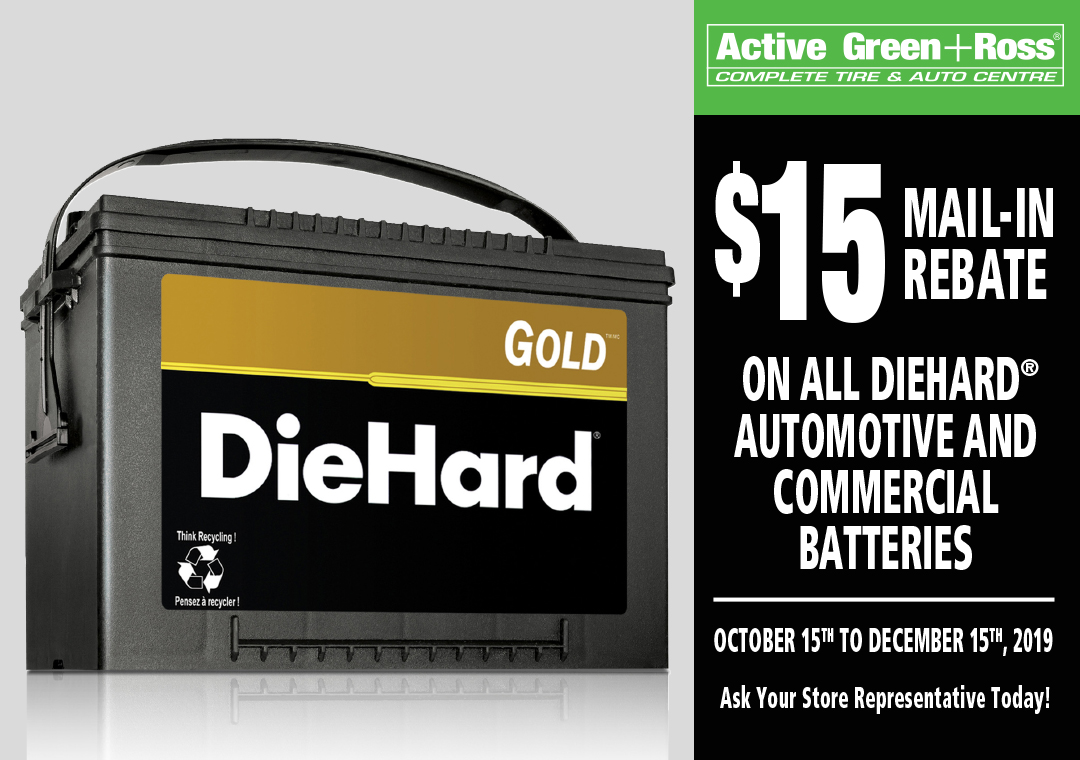 Diehard Battery 2019 Rebate