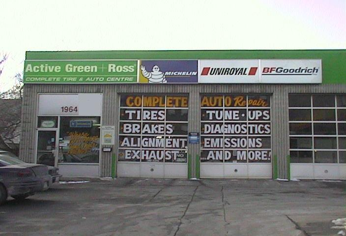 Tire Centre at 1964 Victoria Park (at Curlew), North York