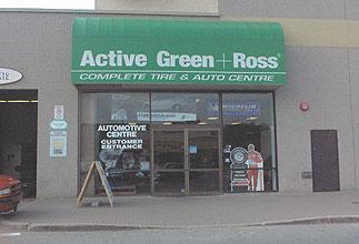 Tire Centre at 2900 Steeles Avenue (at Don Mills) Former Sears Auto Centre now licensed by Active Green & Ross, Thornhill