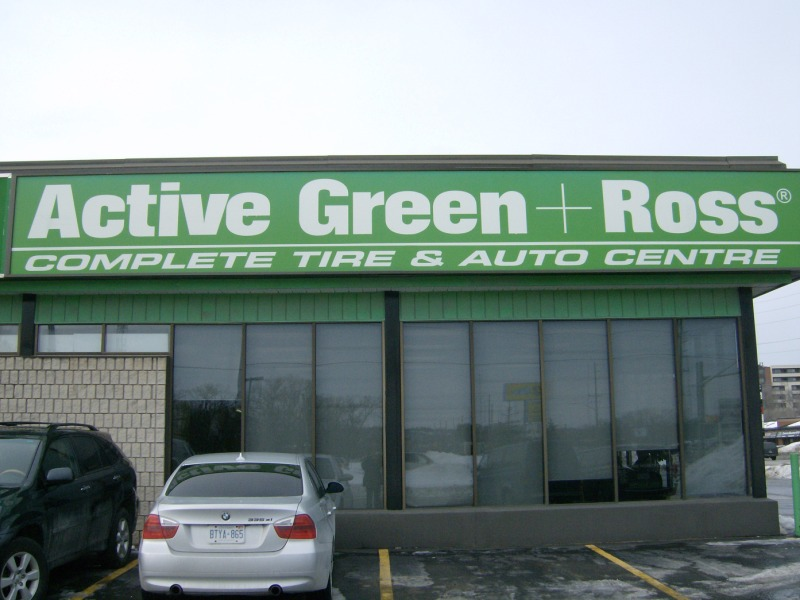 Tire Centre at 38 Anne St. (south of Dunlop), Barrie