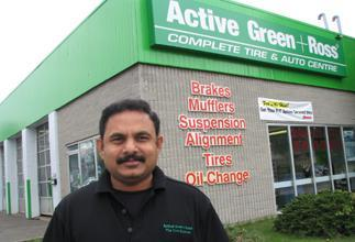 Tire Centre at 3505 Kennedy Road South of Steeles Ave, Scarborough