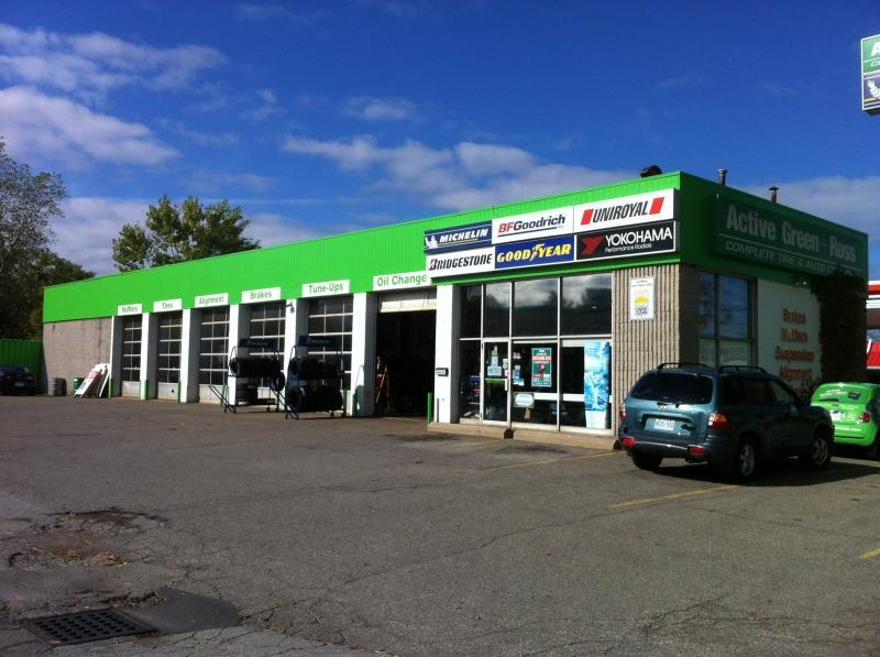 Tire Centre at 381 Ontario Street South of the QEW, St. Catharines