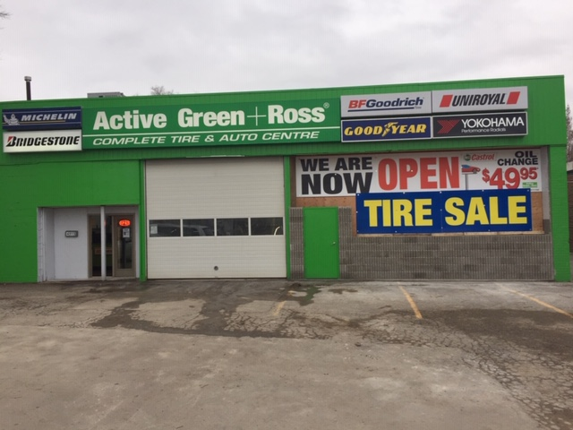 Tire Centre at 4515 Sheppard Ave E West of McCowan Ave., Scarborough