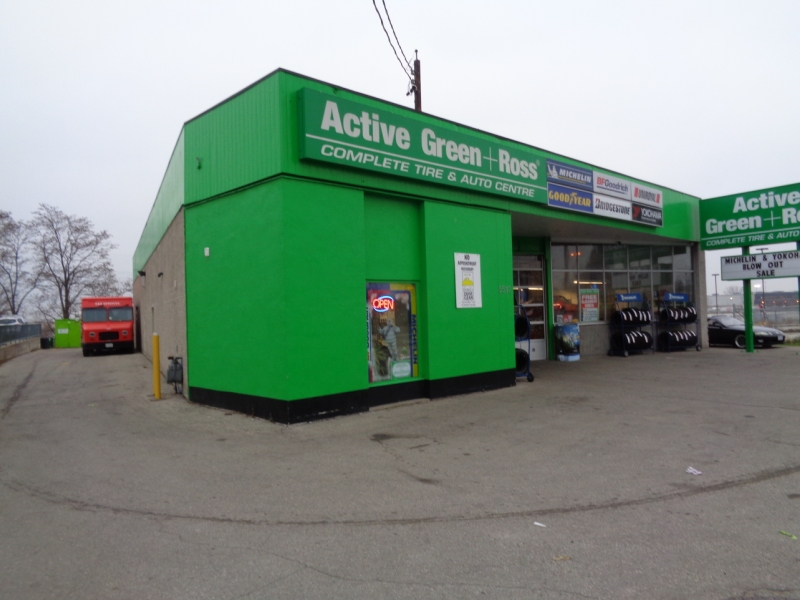 Tire Centre at 5517 Dundas St. W. near Cloverdale Mall, Etobicoke