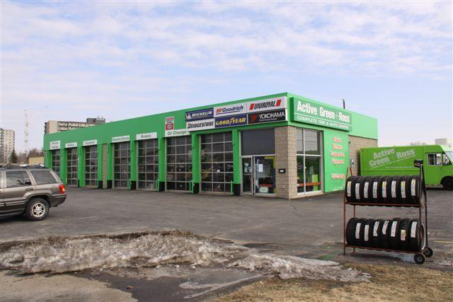 Tire Centre at 615 Oxford St. W.  West of Wonderland Rd., London