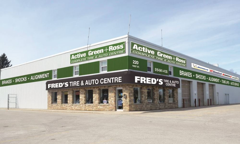 Tire Centre at 220 First Street, Orangeville