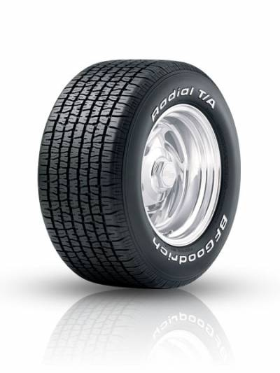 Image of a Radial T/A tire, which can be found at Active Green + Ross in Toronto, ON