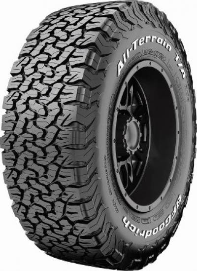 Image of a 121/118S LRE All-Terrain T/A KO2 TM tire, which can be found at Active Green + Ross in Toronto, ON