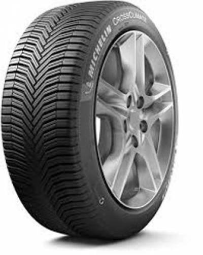 Image of a Michelin 91H  Cross Climate+ All Weather TM tire, which can be found at Active Green + Ross in Toronto, ON
