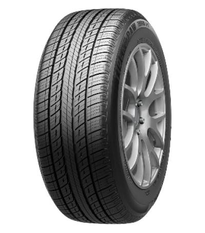 Image of a Uniroyal Tiger Paw Touring A/S tire, which can be found at Active Green + Ross in Toronto, ON