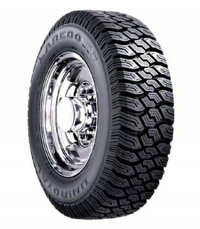 Image of a Uniroyal Laredo HD/T LRD 110/107Q tire, which can be found at Active Green + Ross in Toronto, ON