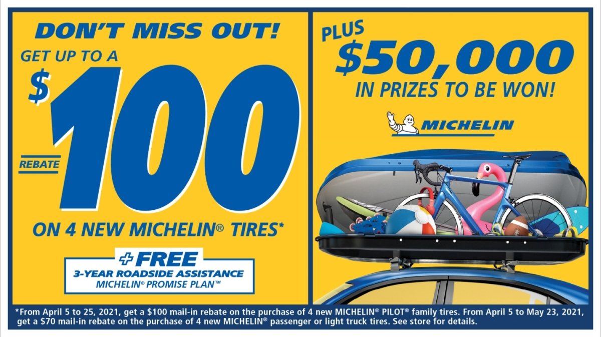 Michelin Spring 2021 Rebate