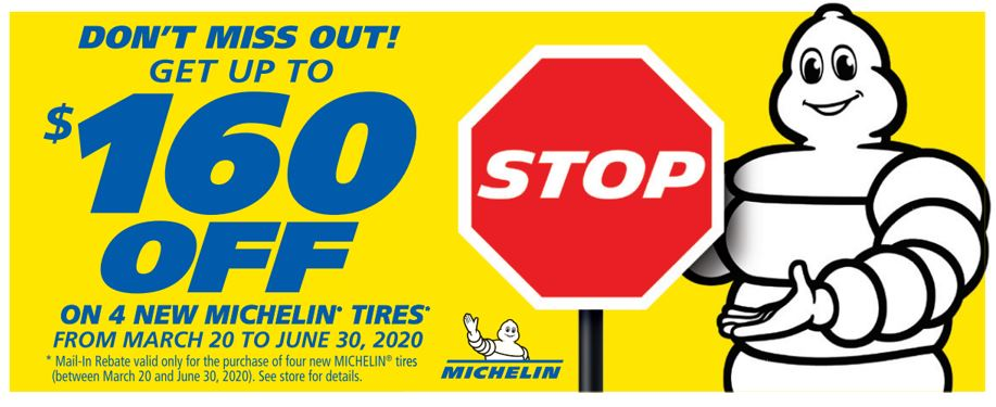 Michelin Spring 2020 Rebate