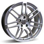 (Use AVW862BHS) ALLOY WHEEL BOLD 18x8 5-112